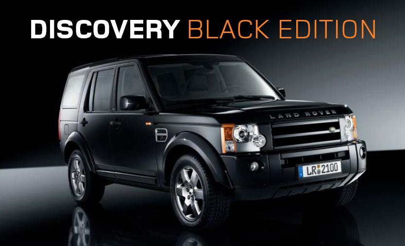 Lr3 Black Limited Edition The Land Rover Center